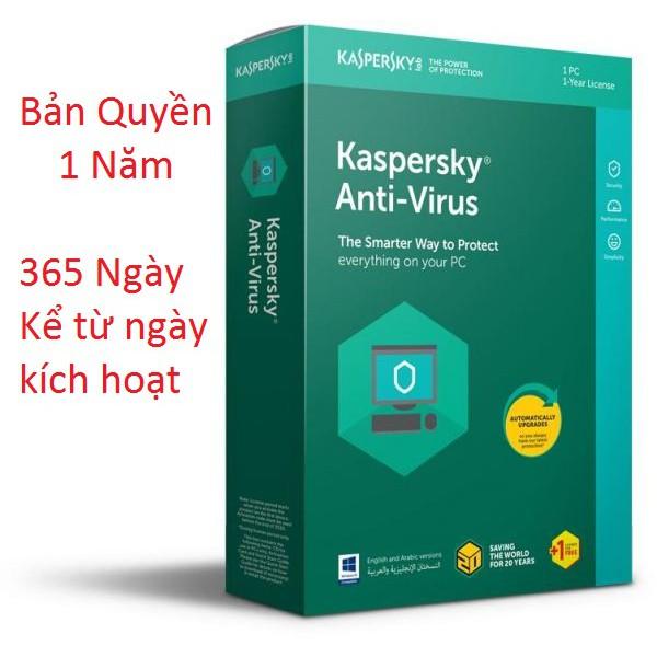 Phần mềm Diệt virus Kaspersky Antivirus 2016 Giá chỉ 65.000₫
