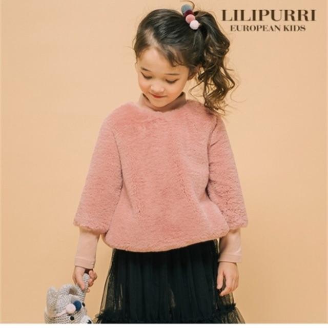Áo lông dành cho bé gái xuất Hàn