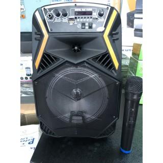 Loa Kéo Karaoke 813 Hát Tuyệt Hay Tặng Kèm Micro Không Dây