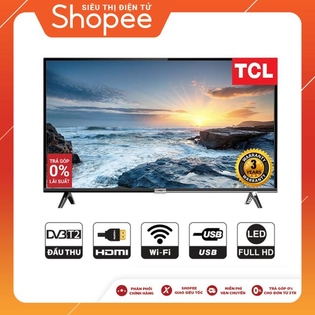 Android Tivi TCL Full HD 43 inch L43S6500 (Chính Hãng Phân Phối)