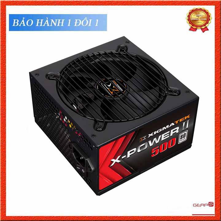 Nguồn Xigmatek X-POWER II 500 - 80PLUS Hàng Mai Hoàng Bảo Hành 36 Tháng
