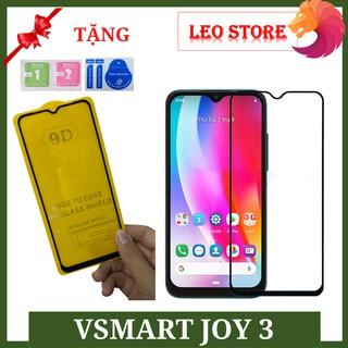 Kính cường lực Vsmart Joy 3 – Full màn hình – Độ cứng 9D 9H
