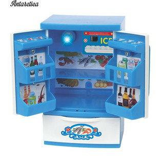♥♥♥ Sew Wash Machine Fridge Fan Dollhouse Furniture Toy