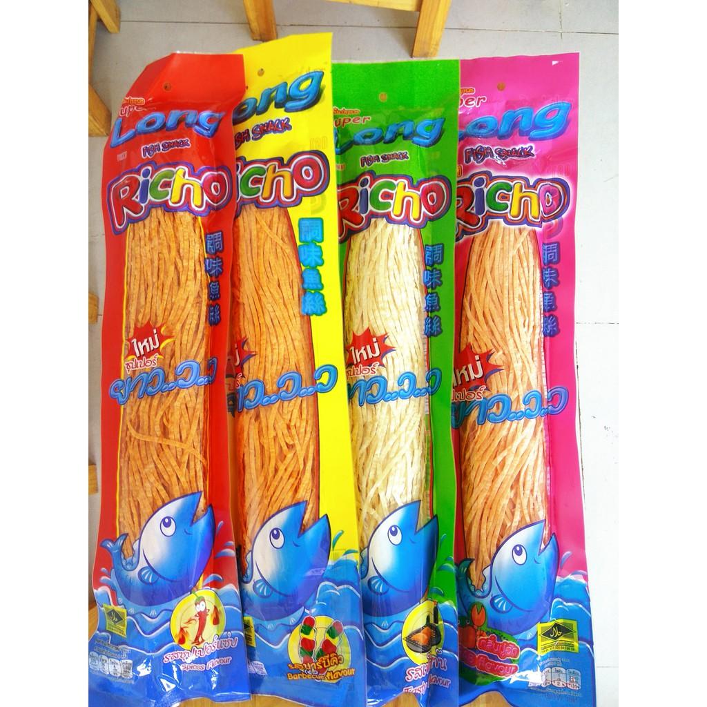 Snack Cá Sợi Super Long Richo Thái Lan