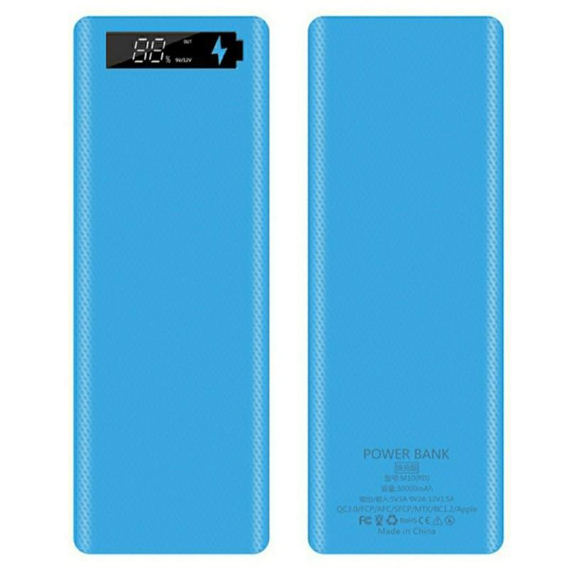 Box sạc dự phòng 10 cell sạc nhanh PD3.0.QC3.0 bản cao cấp chống ngược cực