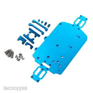 Aluminum Alloy Chassis Upgrade Parts for 1/18 RC Car WLtoys K929 K929-B