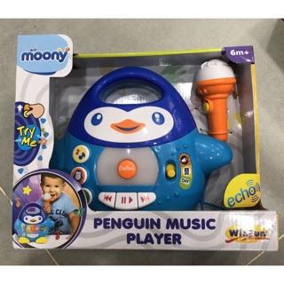 Đàn chim cánh cụt khuyến mãi Moony (kèm mic hát)