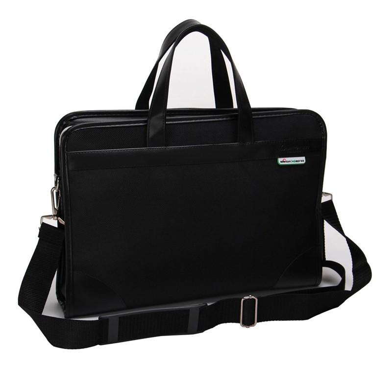 เอกสารธุรกิจของผู้ชายกระเป๋าเอกสารความจุขนาดใหญ่กระเป๋าไฟล์กระเป๋ากระเป๋าเอกสารก