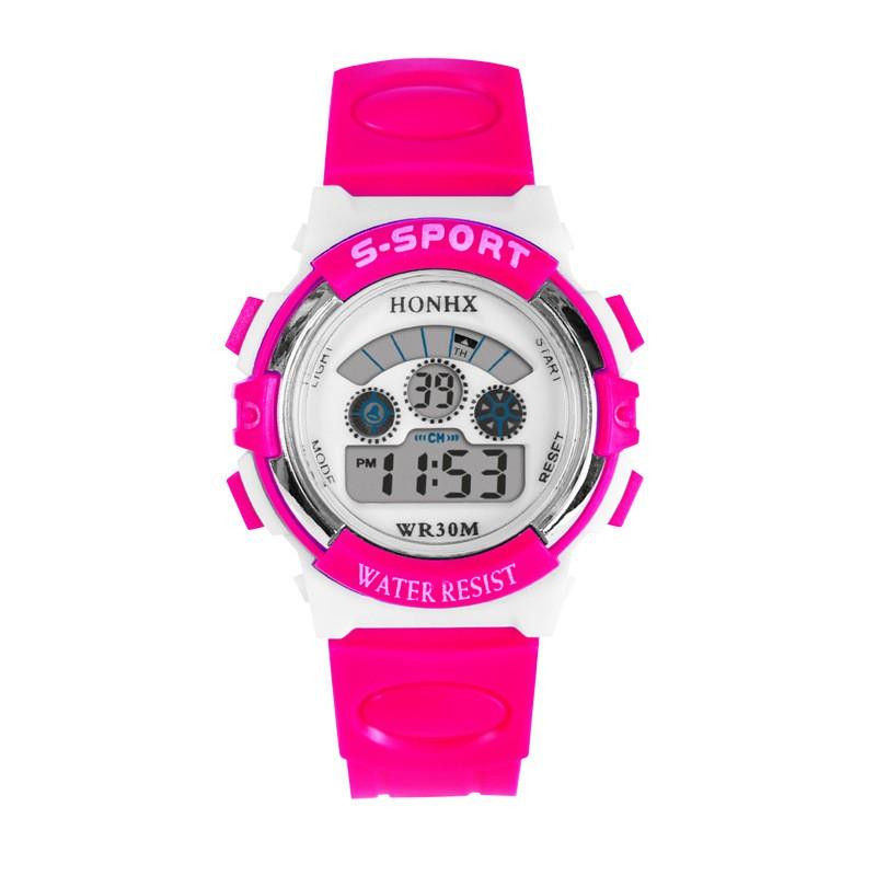 Đồng hồ bé gái HONHX (Hồng)