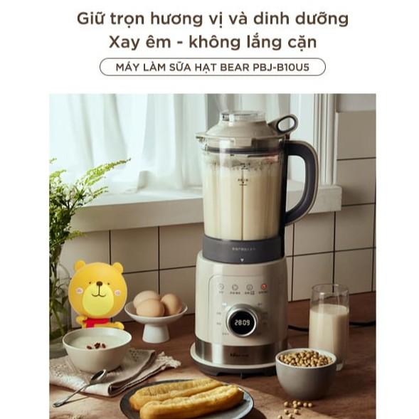 Máy Làm Sữa Hạt Bear, Máy Xay Nấu Sữa Hạt Đa Năng - Sữa Đậu Nành - Xay Sinh Tố - Bear_Bảo Hành 1 Năm