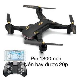 Flycam xs809 phiên bản battle shark camera hd bay 20 phút 2018
