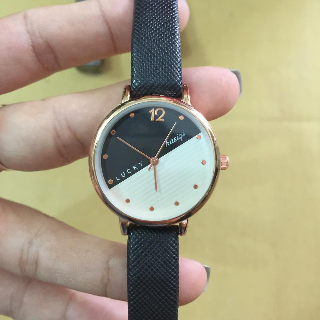 Đồng hồ nữ DH D9038 dây da màu đen đẹp mắt - 3315921 , 1208465811 , 322_1208465811 , 158000 , Dong-ho-nu-DH-D9038-day-da-mau-den-dep-mat-322_1208465811 , shopee.vn , Đồng hồ nữ DH D9038 dây da màu đen đẹp mắt
