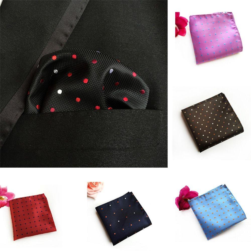 1 Pocket bath towel polka dots