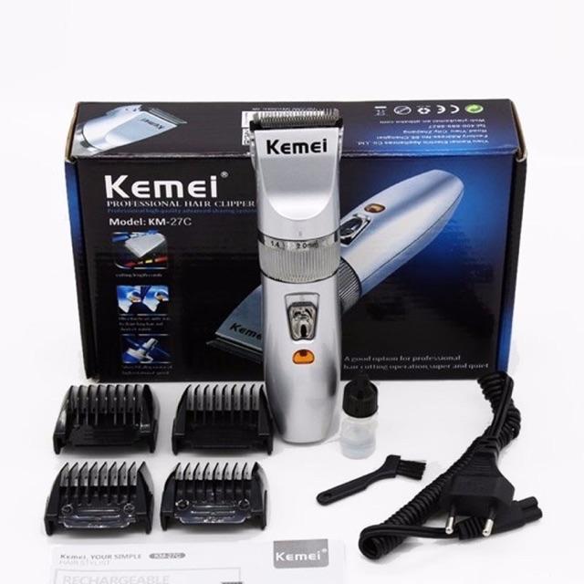 ⚡️CHUYÊN CẮT TÓC ⚡️Tông đơ cắt tóc gia đình KEMEI-27C - Đẹp dễ sử dụng