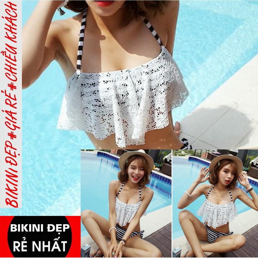 Bikini sexy ( RẺ VÔ ĐỊCH ) Bikini 2 mảnh sexy thời trang đi biển hè 2019 đen lưới ngực tôn dáng gợi cảm Đe 4 –R | SaleOff247