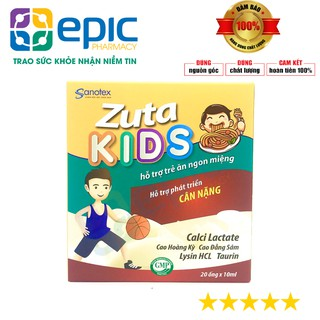 [CHÍNH HÃNG ] Siro Zuta KIDS - Hỗ trợ trẻ từ 6 tháng ăn ngon,phát triển cân nặng - Hộp 20 Ống thumbnail