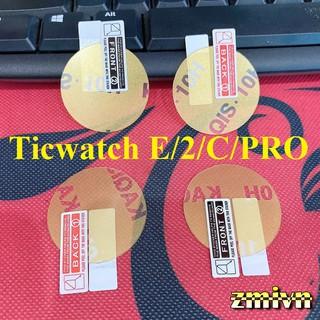 Cường lực dẻo Nano chống xước bảo vệ màn Ticwatch E/S/2 , Ticwatch PRO...