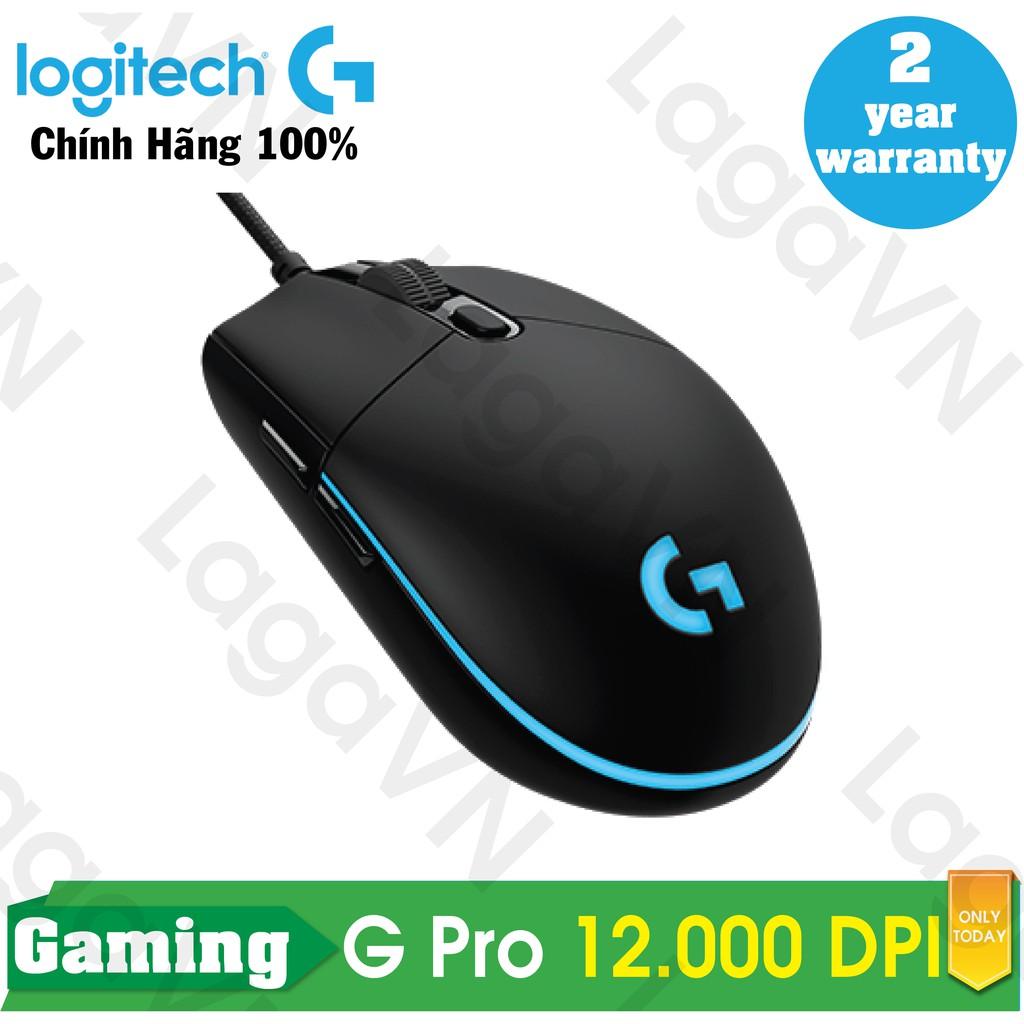 Chuột game Logitech G Pro RGB LED (Đen)