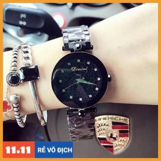 [Hàng chính hãng] Đồng hồ nữ Dimini dây thép ko gỉ hàng chính hãng size 34mm thumbnail