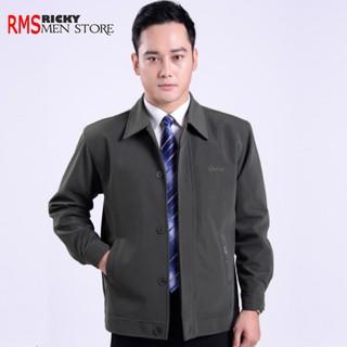 Áo khoác trung niên cao cấp cho bố – áo khoác cho bố dáng đứng