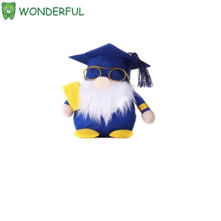WONDERFUL Party Supplies Gnome Decorations Gifts Graduation Plush Gnomes Home Decor Handmade Toy Table Ornaments Class of 2021
