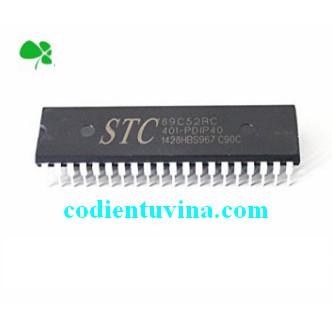 Chíp STC89C52RC-40I-PDIP40