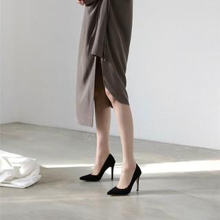 [Mã FASHIONGREEN94 giảm 10% tối đa 30k đơn từ 99k] Giày Cao gót da lộn thời trang cao cấp mã LC_C44 thumbnail