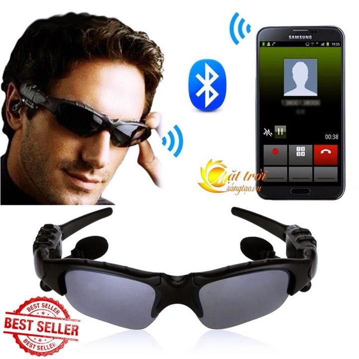 Tai Nghe Bluetooth Kết Hợp Kính Mát 2in1 Sành Điệu MS-19