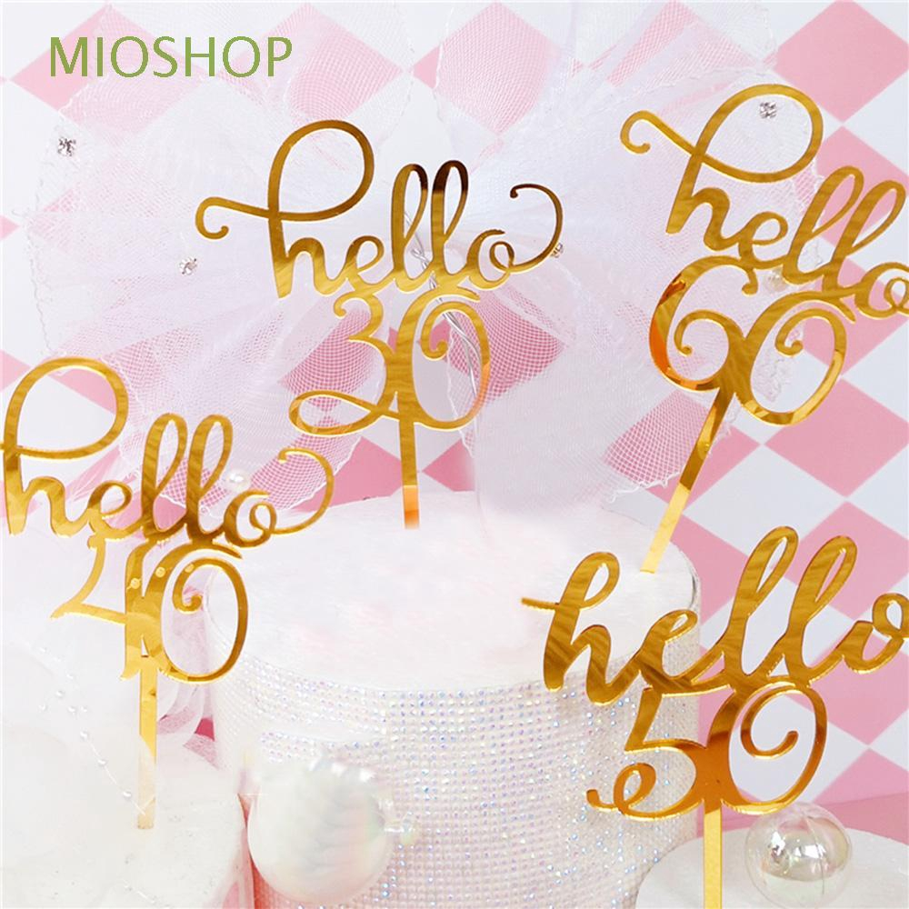 MIOSHOP DIY Lovely Wedding Supplies Birthday Gifts Anniversary Party|Acrylic