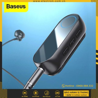 Yêu ThíchBộ Bluetooth Receiver Baseus BA02 Wireless Adapter (Audio Bluetooth V5.0 Receiver to Jack 3.5mm, for Earphone / Speaker)