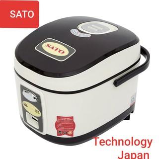[Mã ELMS5 giảm 7% đơn 300k] Nồi Cơm Điện Technology Japan SATO S18_87L LOẠI 1.8L