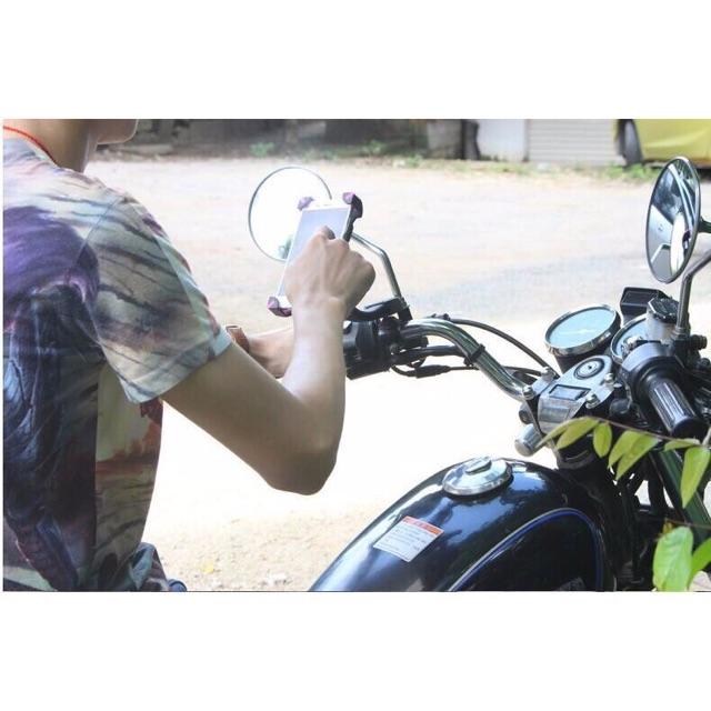 Giá đỡ   Kẹp điện thoại trên xe máy