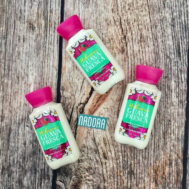 Dưỡng thể Hibiscus Guava Fresca Bath and Body Works Body Lotion 88ml