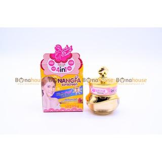 [Hiệu Qủa 100%]Kem Chống Nắng Dưỡng Trắng Da Che Khuyết Điểm Nangfa Sunscreen Ariya 4in1 SPF 50 Thái Lan