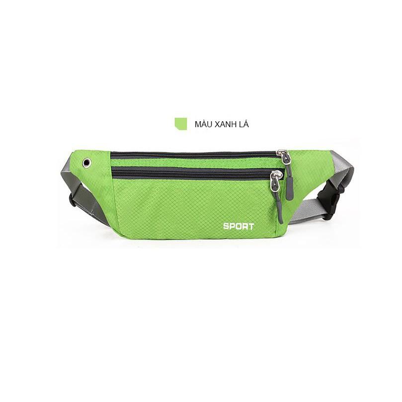 Túi đeo bụng ,Túi đeo hông tâp thể dục chất cao cấp chống nước -XL- Tuxa store