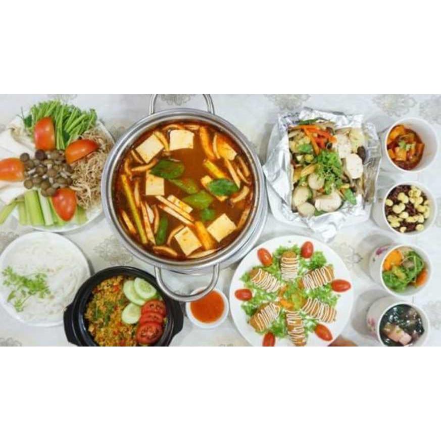 HCM [E-Voucher] - Giảm 200.000đ khi thưởng thức đồ chay đa dạng với Lẩu Chay Vạn An