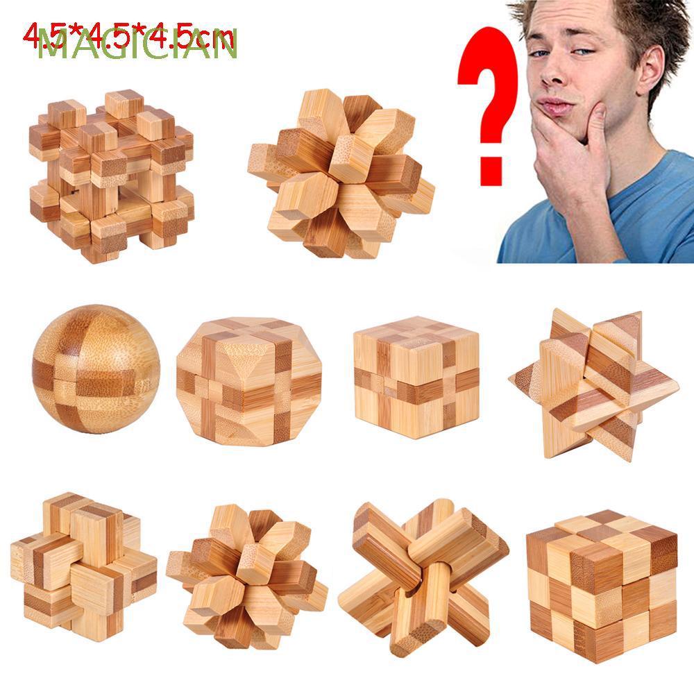 Đồ chơi xếp hình bằng gỗ rèn luyện trí thông minh độc đáo