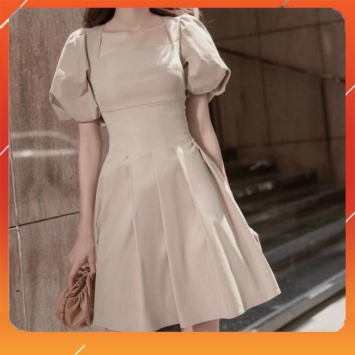Mặc gì đẹp: Sang chảnh với Đầm dự tiệc cưới, Váy dự tiệc nữ màu trắng TheHQ chất vải đẹp-thiết kế dáng xòe mang lại sự dịu dàng và sang trọng