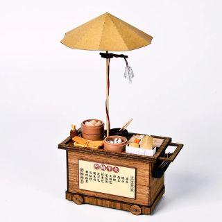 Mô hình nhà gỗ lắp ráp Dollhouse DIY – BM822 Dimsum Stall