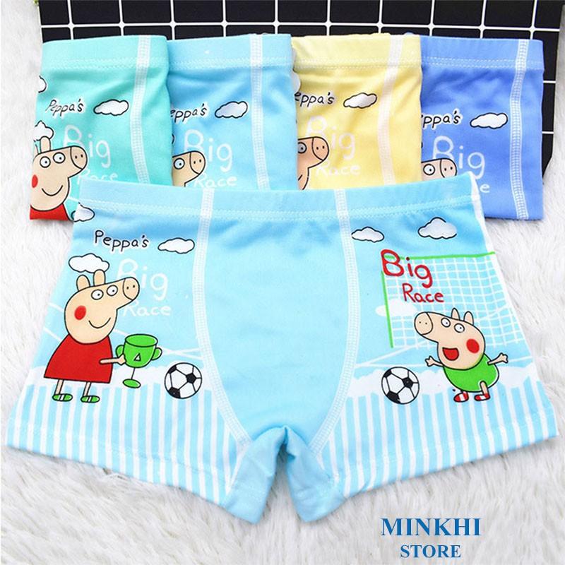 Quần lót bé trai - quần chip bé trai MINKHI 136001
