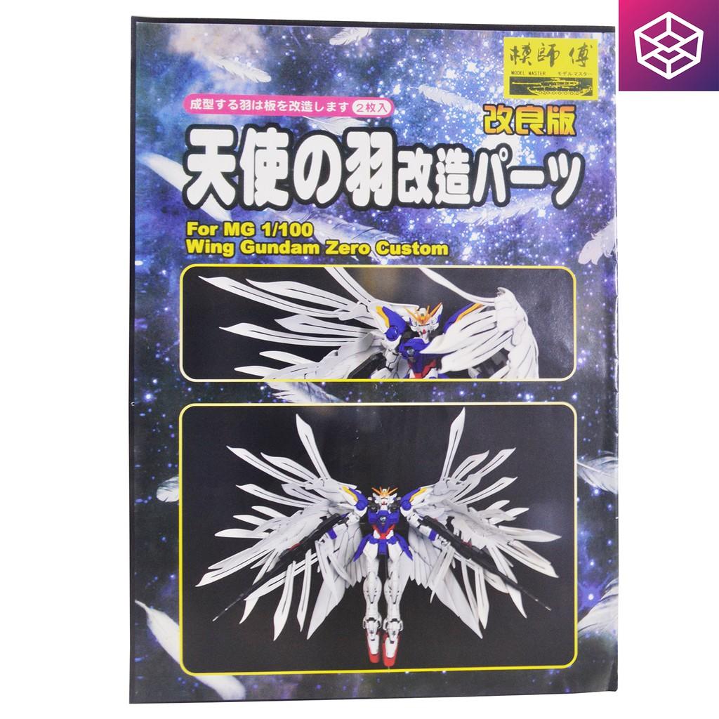 Hiệu ứng cánh cho Wing Gundam Zero Custom cỡ MG