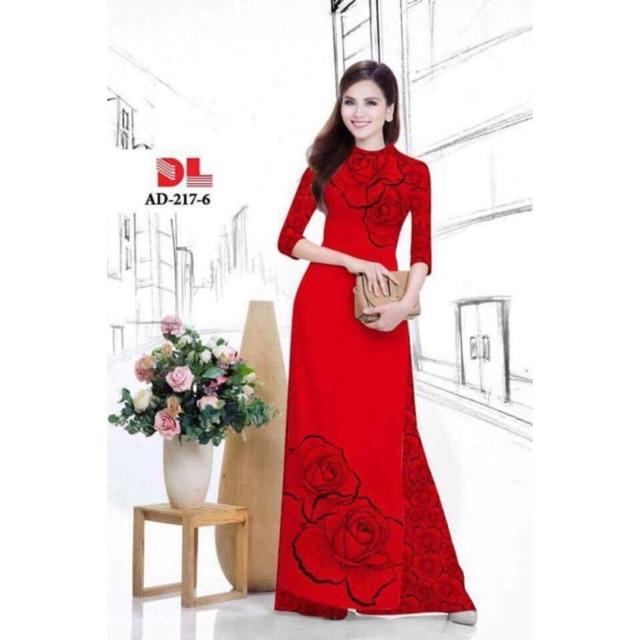 vải áo dài hoa hồng vẽ - 3137559 , 564971226 , 322_564971226 , 230000 , vai-ao-dai-hoa-hong-ve-322_564971226 , shopee.vn , vải áo dài hoa hồng vẽ