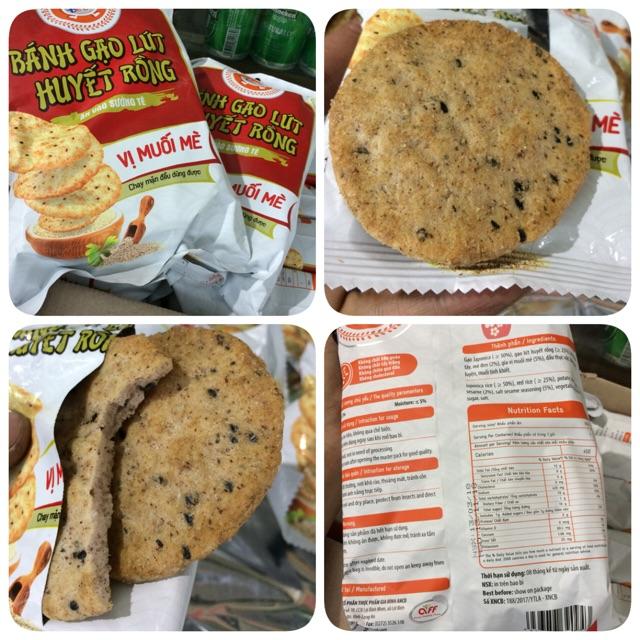 |Bánh Gạo| Bánh Gạo Lứt Huyết rồng Tê Tê vị Muối Mè 140g - 2995983 , 1100076119 , 322_1100076119 , 21000 , Banh-Gao-Banh-Gao-Lut-Huyet-rong-Te-Te-vi-Muoi-Me-140g-322_1100076119 , shopee.vn , |Bánh Gạo| Bánh Gạo Lứt Huyết rồng Tê Tê vị Muối Mè 140g