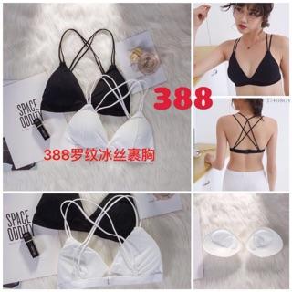 (A388)áo bra cá tính có dây đan lưng sexy ,