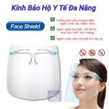 💥 Tấm kính che mặt bảo vệ chống bắn nước bọt chống dịch chống bụi chống nắng có thể dùng...