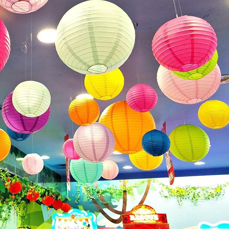Lồng đèn giấy phong cách Trung Quốc