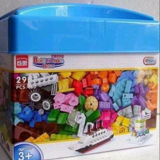 Bộ xếp hình Lego 460 chi tiết cho bé từ 3 tuổi