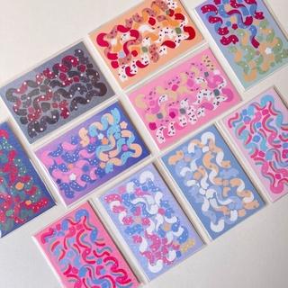sticker ribbon trang trí,decor