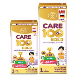 Sữa bột pha sẵn Care 100 gold loại 180ml