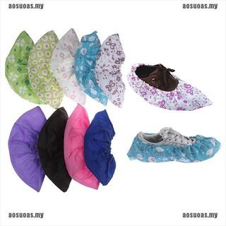 Cặp bọc giày bằng vải không dệt dày dặn co giãn tốt có thể tái sử dụng tiện lợi